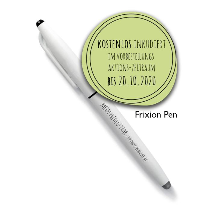 frixion pen business planner 2021