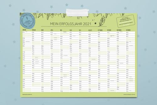 wandkalender business planner 2021